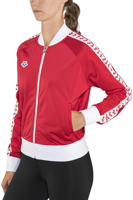 arena Relax IV Team Jacke Damen red white red